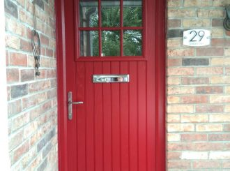 Derry Grey With Red Dublin Door 3